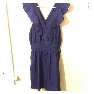 BCBG purple dress